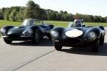foto: 12 Jaguar F1 Driver, Mark Webber, in Jaguar XKSS; Jaguar F1 Driver, Justin Wilson, in Jaguar D-type.jpg