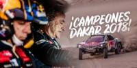 foto: 01 Campeones Carlos Sainz Lucas Cruz Peugeot 3008 DKR Maxi - Dakar 2018.jpg