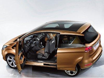 Ford b max concept hecho realidad motormundial for Coches con puertas correderas