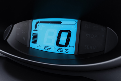 Renault TWIZY cuadro digital