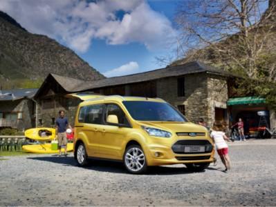 Ford Tourneo Connect: el espacio intermedio (5 y 7 plazas)