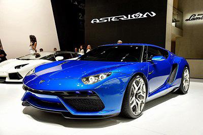 Lamborghini Asterion LPI 910-4 delantera 2 en el salon Paris Mondial de L'Automobile [400x266]