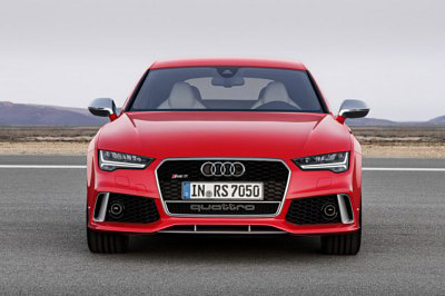 AUDI RS7 2014 frontal [400x266]