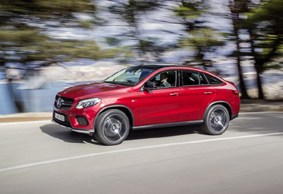 Mercedes GLE Coupe 2015 lateral dinamica [400x300]