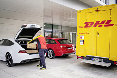 Audi DHL y Amazon facilitan la compra online (400)