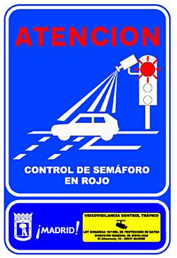 cartel camara semaforo
