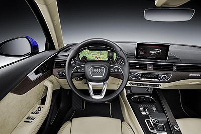 Audi A4 2015 int. salpicadero [400]
