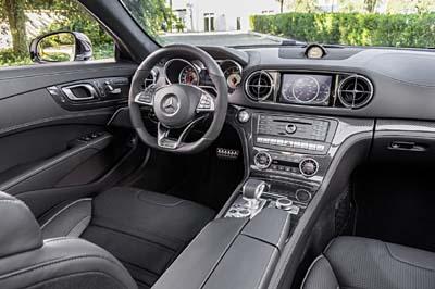 Mercedes-AMG SL 65 2016 30 salpicadero 400