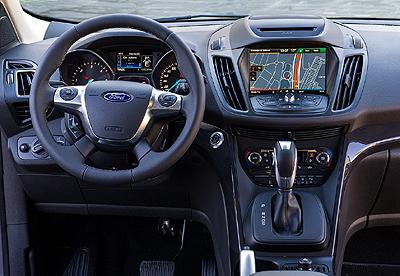 10. Ford Kuga 2016 400 pantalla tactil
