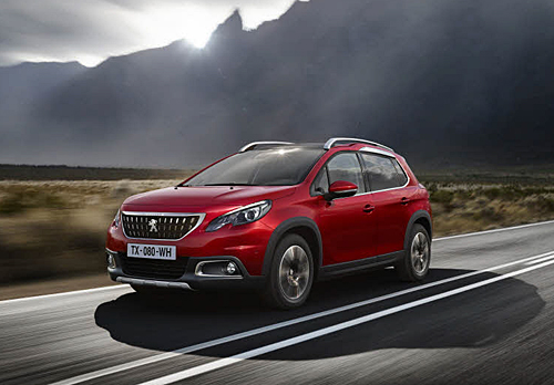 Peugeot 2008 restyling 2016 22 500