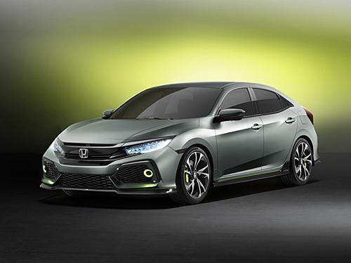 Honda Civic Prototype 2016 delantera