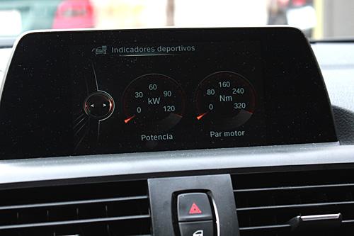 05 BMW 116d Sport 5p Steptronic 2015 interior indicadores deportivos 500