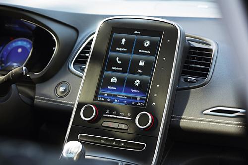 26 Renault Scenic 2016 interior salpicadero pantalla 500