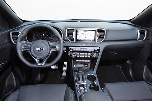 32 Kia Sportage 2016 interior GT Line salpicadero 1 500