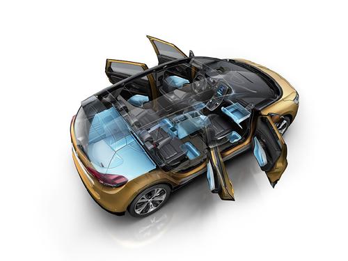 37 Renault Scenic 2016 - capacidad interior 500