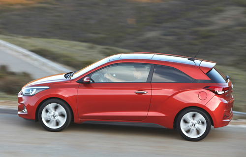 Prueba: Hyundai i20 Coupé Style 1.4 CRDI 90 CV
