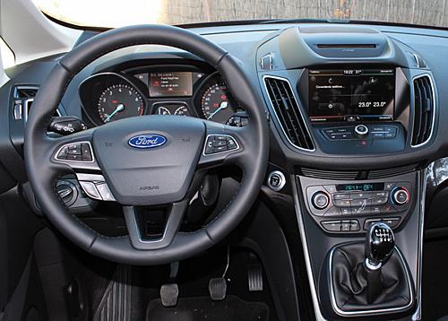 18 Ford C-MAX 1.0 EcoBoost 125 CV Titanium interior salpicadero 500