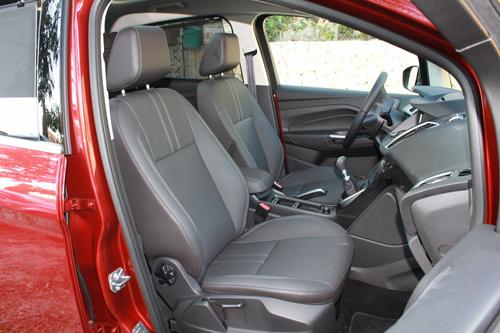27 Ford C-MAX 1.0 EcoBoost 125 CV Titanium interior asientos delanteros 500