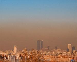 Potocolo alta contaminación en Madrid