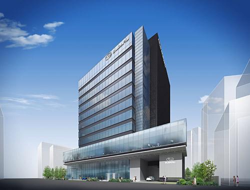 Nuevo edificio de Subaru en Ebisu
