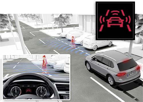 01 VW Tiguan 2016 seguridad freno emrgencia deteccion peatones 500