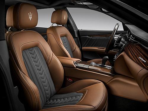 03c Maserati Quattroporte S Q4 GranLusso Zegna Edition interior asientos delanteros 500