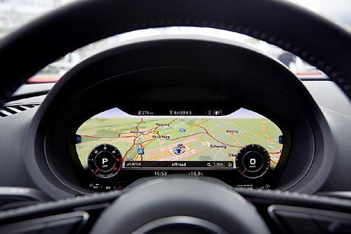 26 Audi A3 Sportback 2016 interior salpicadero audi virtual cockpit 2 500