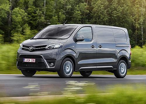 Toyota Proace Furgón (Primer contacto)
