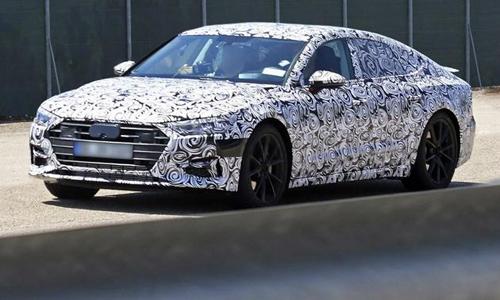Audi A7 2018 foto espia camuflado