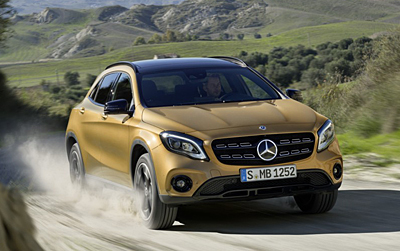11 Mercedes GLA Restyling 2017 400