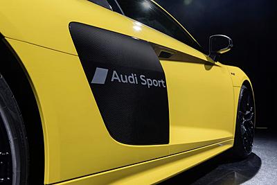 Audi exclusive: serigrafía de letras y gráficos en la carrocería