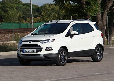 Prueba: Ford EcoSport 1.5 TDCI Titanium