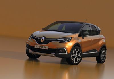 Renault Captur Restyling 2017