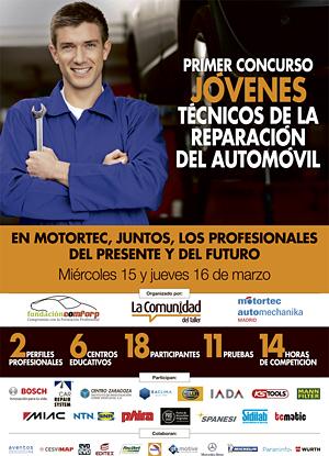 I Concurso de Jóvenes Técnicos de la reparación del Automóvil