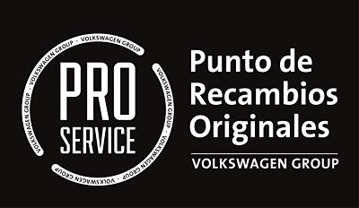 PRO Service, venta de recambios originales del Grupo Volkswagen