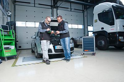 Bosch adquiere nuevos vehículos para la formación técnica de talleres