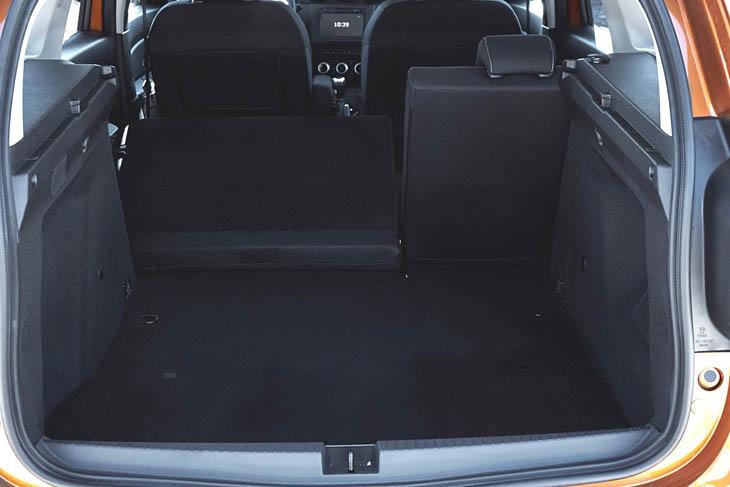 Clásico NEGRO Alfombra maletero Dacia Duster II 2018-…