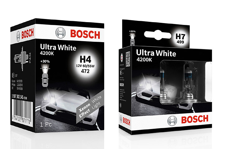 bosch nuevas l mparas xenon blue y ultra white motormundial. Black Bedroom Furniture Sets. Home Design Ideas
