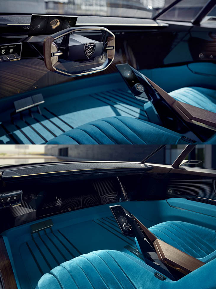 Peugeot E Legend Concept Motormundial